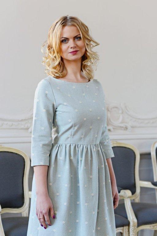 Kokvilnas kleita
